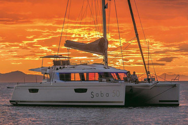 Skippered Yacht Charter in Croatia on Catamaran Fontaine Pajot Saba 50 from Kaštela (Split Airport).