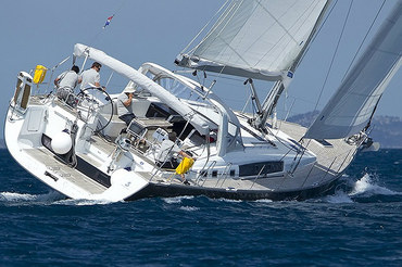 Skippered Yacht Charter in Croatia on Sailing yacht Beneteau Oceanis 58 from Kaštela (Split Airport).