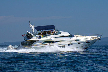 Fairline Squdron 78 - Yacht Charter in Croatia